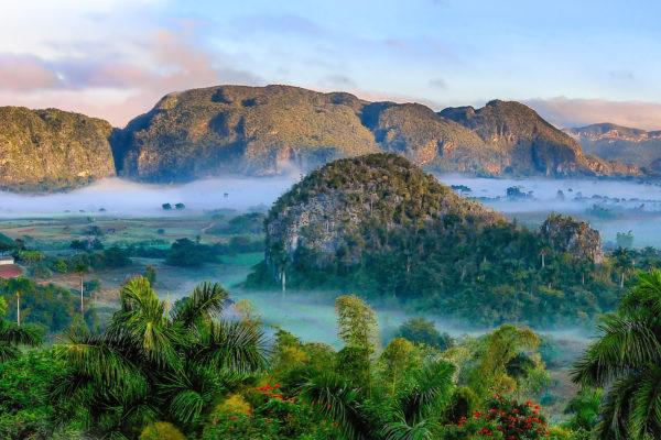 cuba mountains rainforest