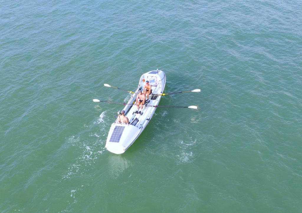 team training aerial view