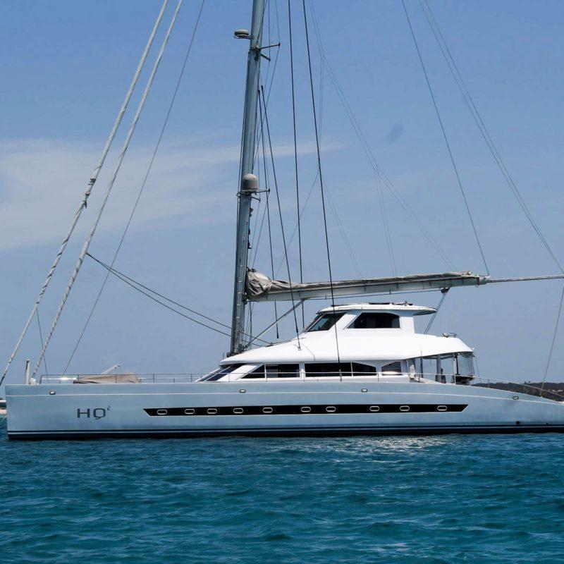 hq2 expedition catamaran mozambique