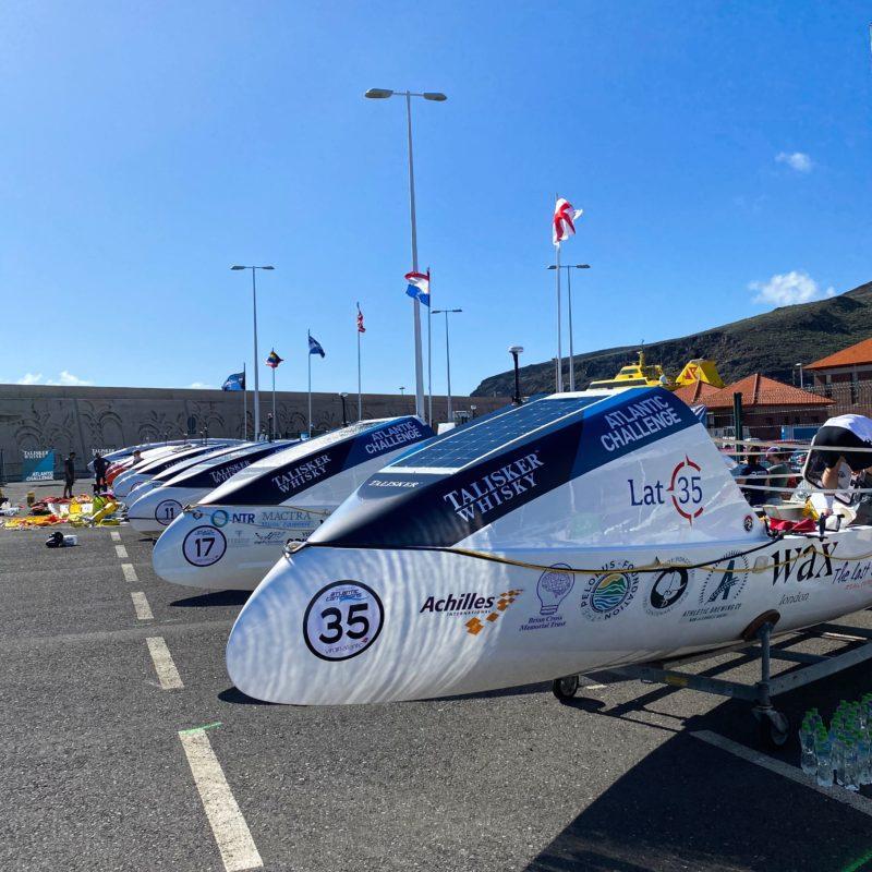 latitude 35 team boat talisker whisky atlantic challenge