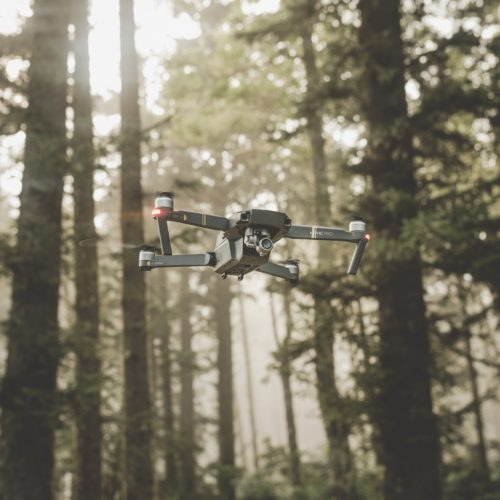 oregon states drone woods flying united