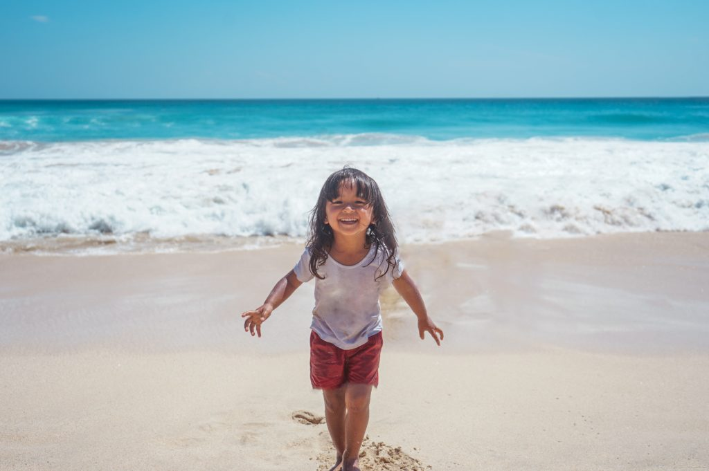 beach little indonesia smile bali girl