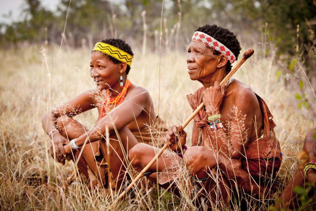 san community people botswana