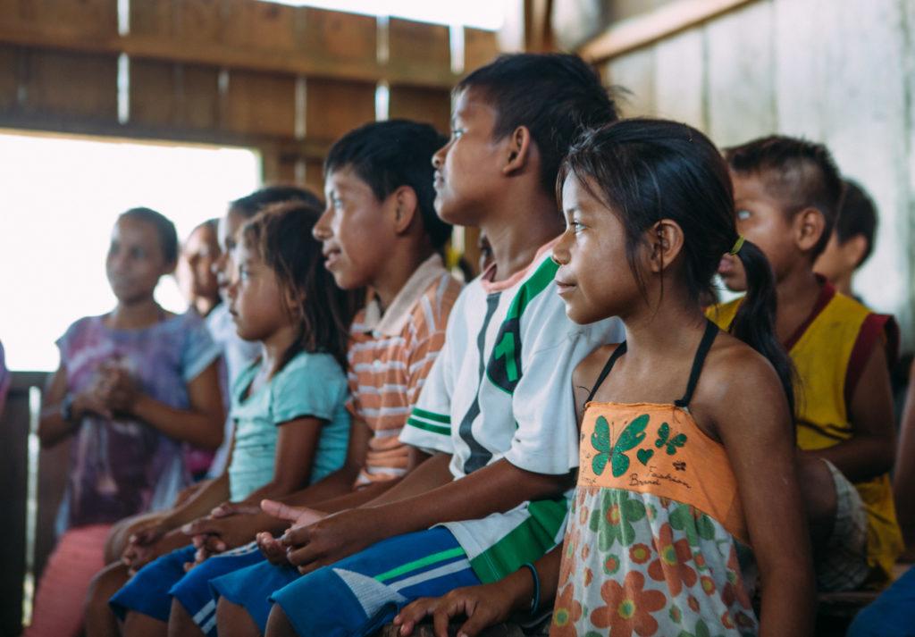 amazon brazil children education
