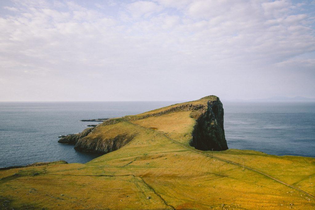 scotland cliff coast