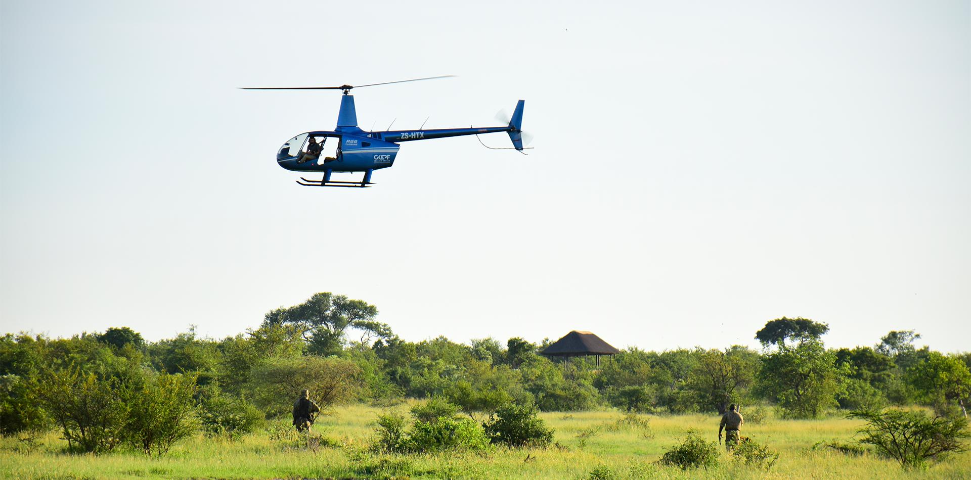 heli transfrontier ranger air support