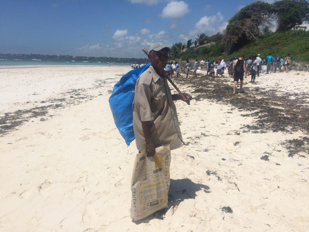 kenya international beach clean up