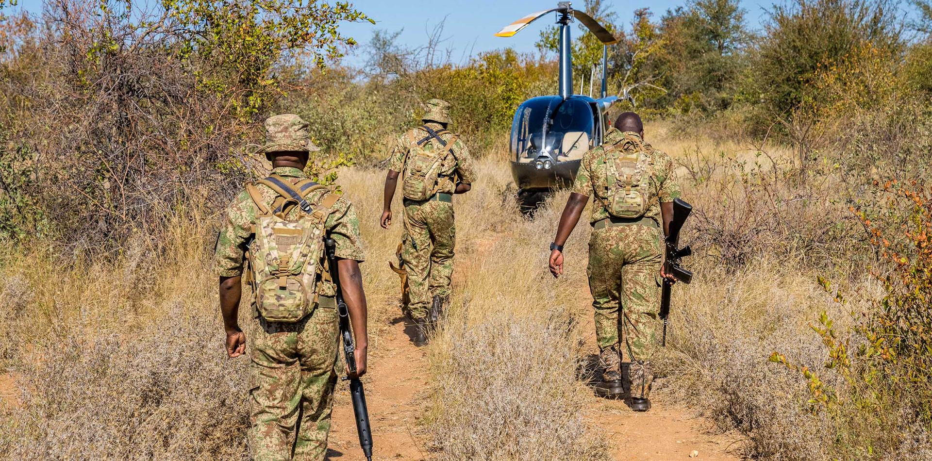 transfrontier ranger training