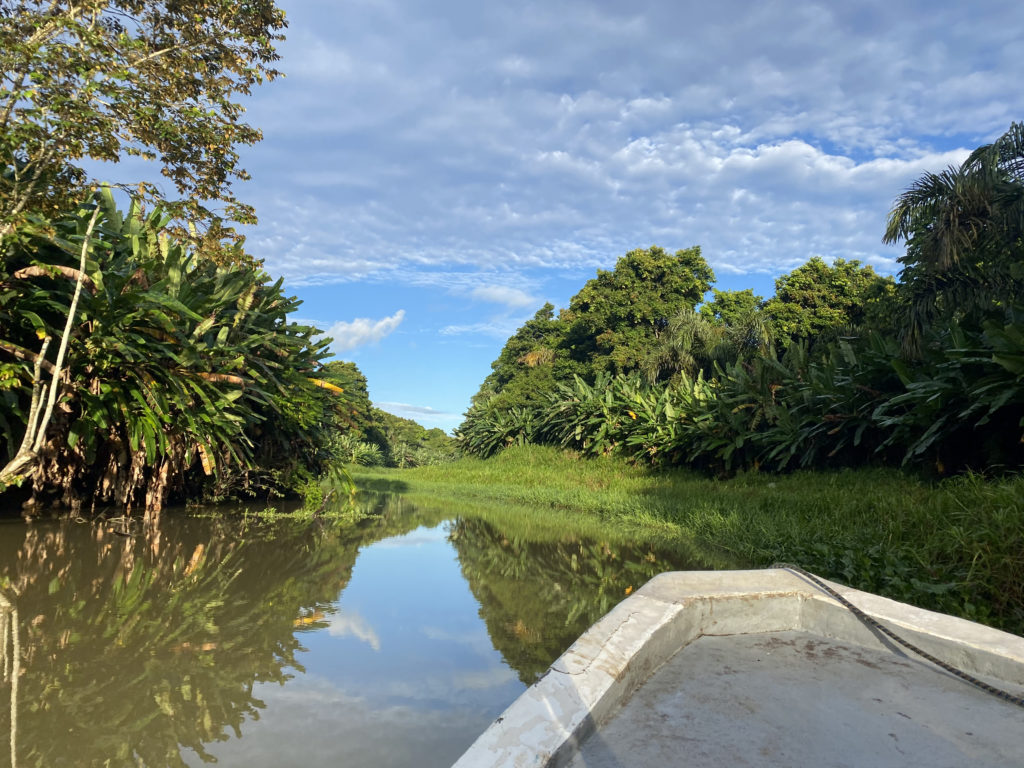 waterways boat journey costa rica